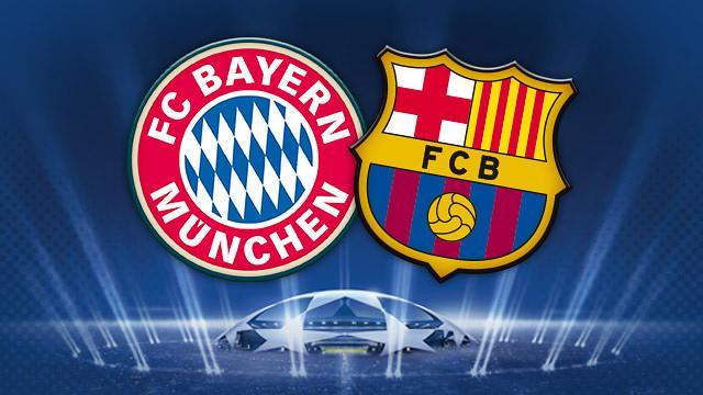 Bayern x Barcelona