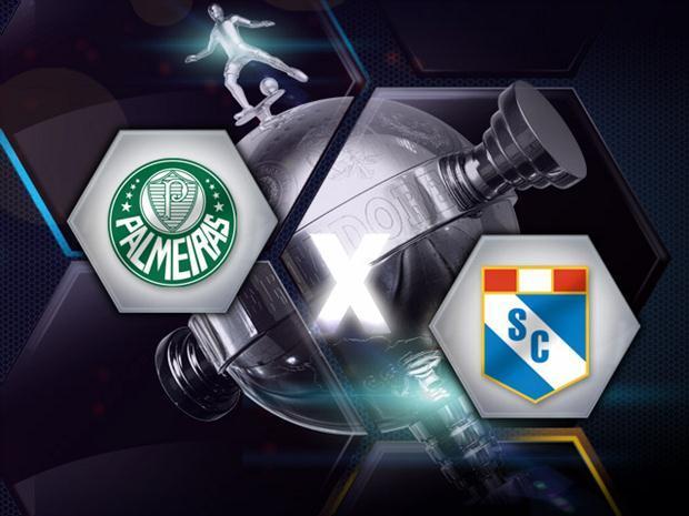 Palmeiras e Sporting Cristal