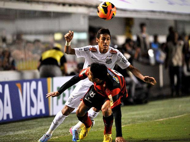 Santos x Flamengo-PI Gols