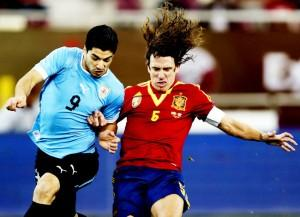 Espanha-Uruguai-Suarez-Carles-JaafarAFP_LANIMA20130206_0069_26