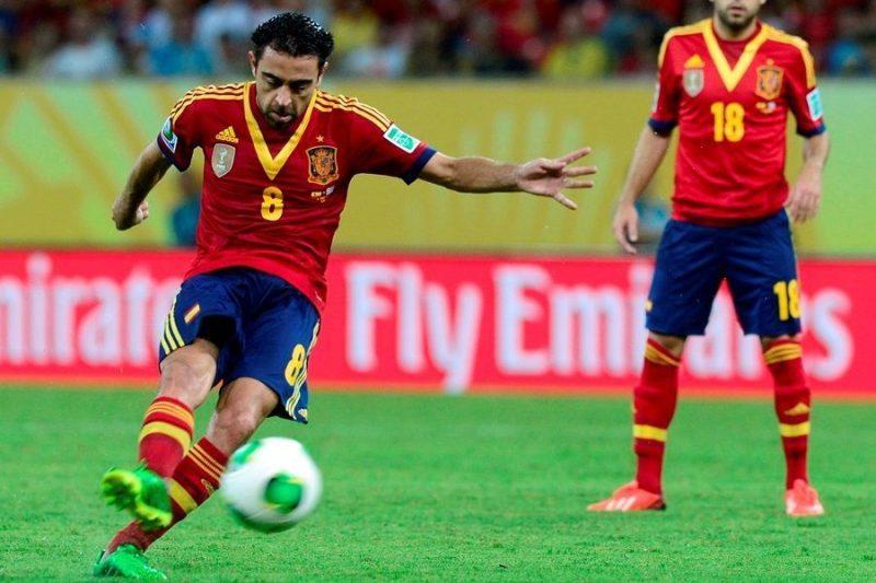 Xavi é o maestro da fúria espanhola