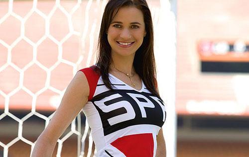 Foto: musa do São Paulo F.C. (Brasilierão 2013 série A)