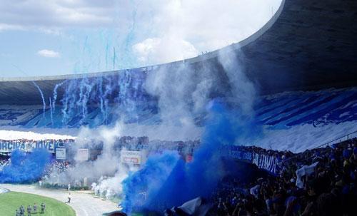 Foto: torcida do Cruzeiro, quase campeão 2013