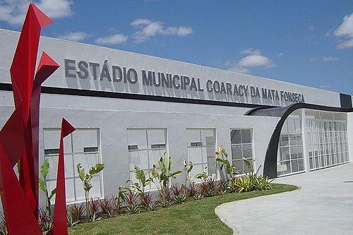Foto: Estádio Coaracy Fonseca (Arapiraca AL)