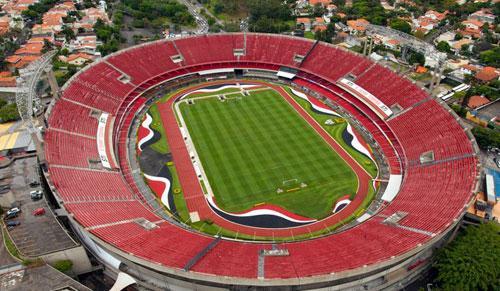 Foto: estádio do Morumbi (Palco do jogo de hoje do São Paulo)
