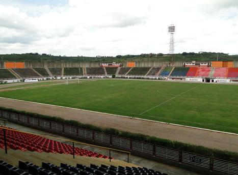 Estádio onde jogarão Boa Esporte x Joinville.