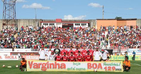 Homenagem do Boa Esporte à cidade de Varginha.