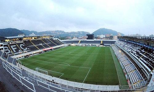 Foto: VIla Belmiro (estádio do Santos Futebol Clube)