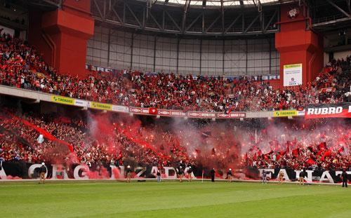 Foto: torcida do Atlético Paranaense (Fanáticos)