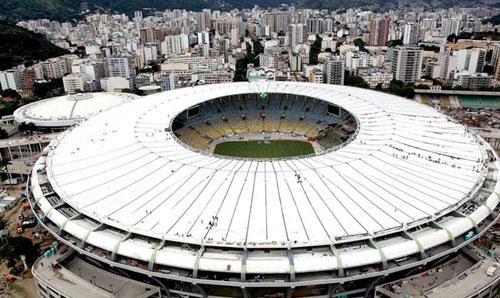 Estádio Maracanã - Palco do jogo de hoje do Flamengo