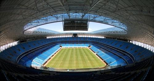 Arena do Grêmio, em Porto Alegre, capital do RS.