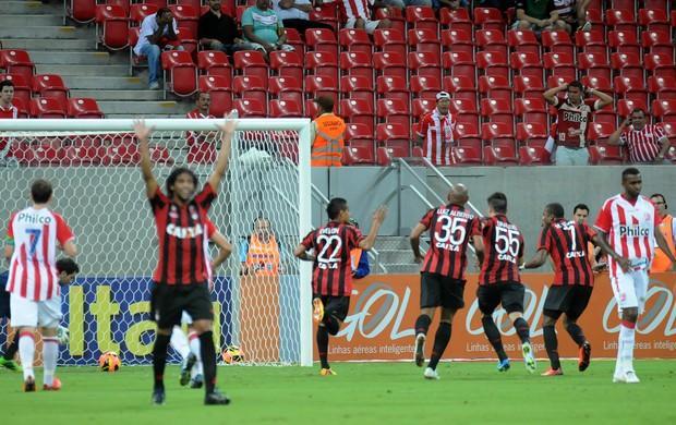 Jogo Atlético PR x Náutico série A - Brasileirão 2013