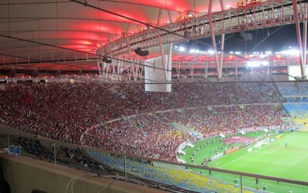 Jogo Flamengo x Atlético-PR Final da Copa do Brasil 2013 Maracanã