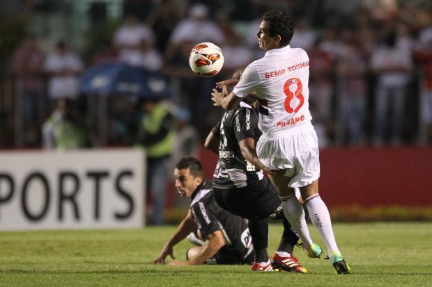 Jogo São Paulo x Ponte Preta - Copa Sulamericana 2013 - Semi-final