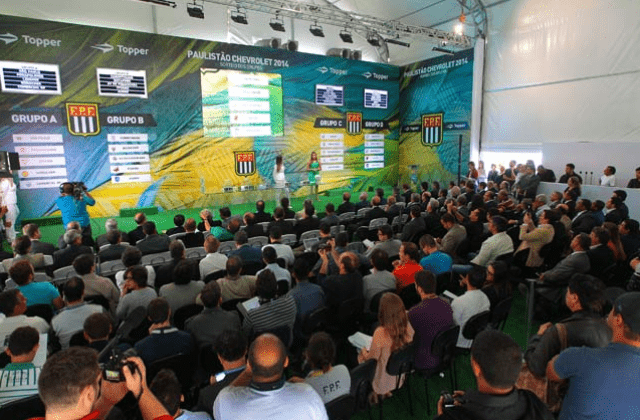 Cerimônia da FPF - decisão dos Grupos