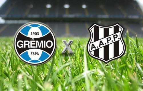 Jogo Ponte Preta x Grêmio série A - Brasileirão 2013