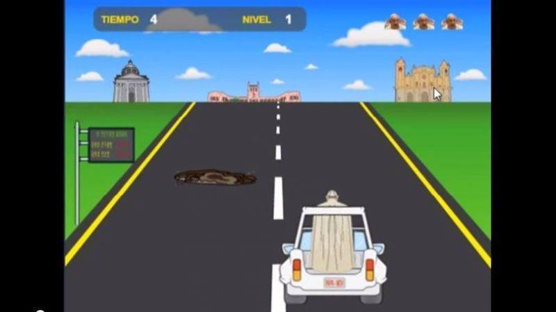 Jogo Papa Road foi criado por jovens paraguaios