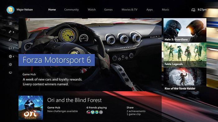Novidades da nova atualização do sistema do Xbox One