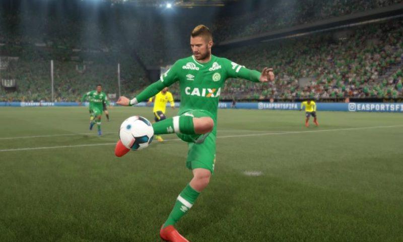 FIFA 17 libera Kit de Uniformes da Chapecoense