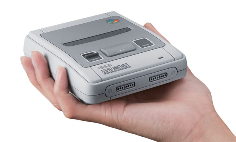 Nintendo SNES será lançado com 20 jogos clássicos e 1 inédito
